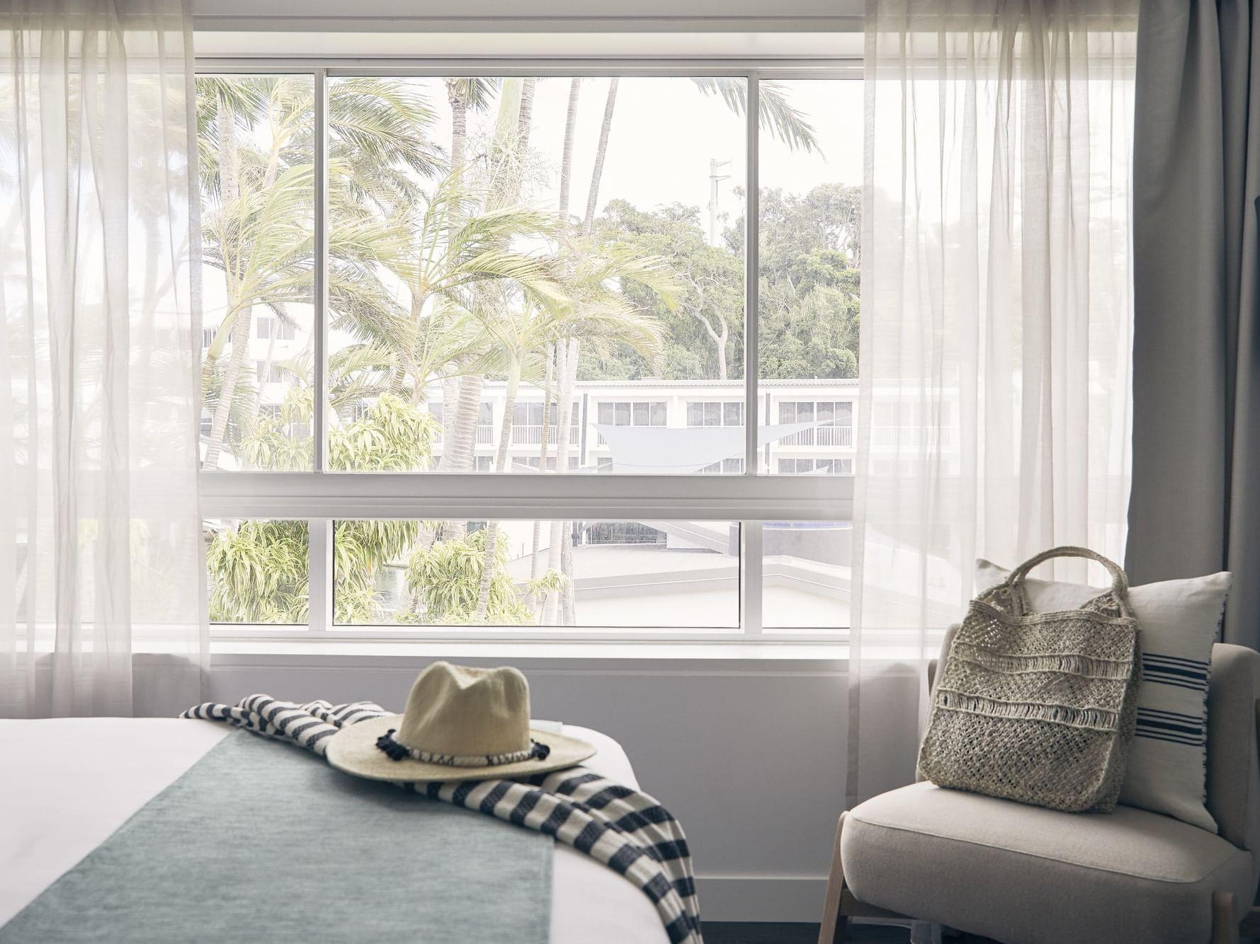 Window view from Resort Room at Daydream Island Resort