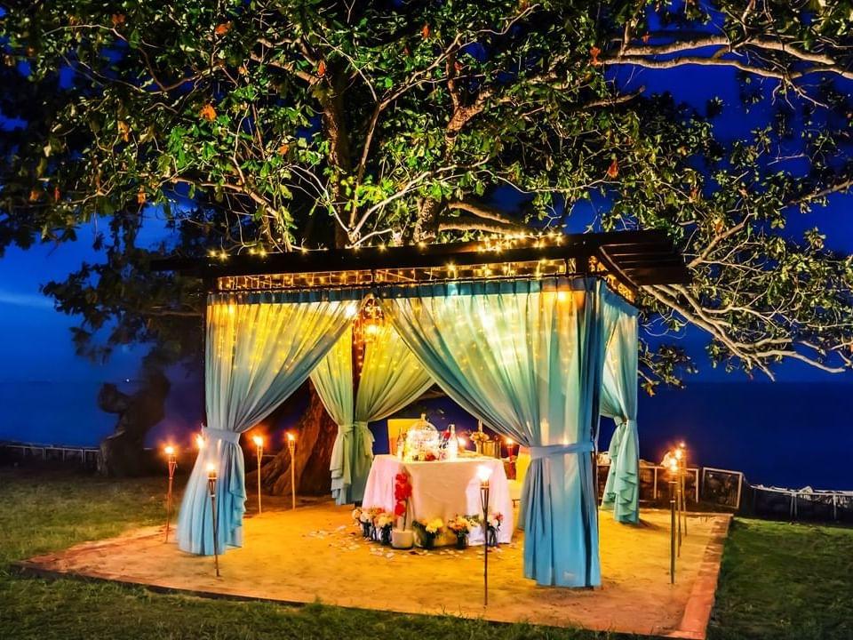 Romantic Dinner at The Gazebo