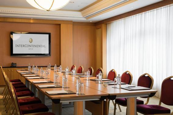 Maidan meeting rooms at Intercontinental Kyiv hotel
