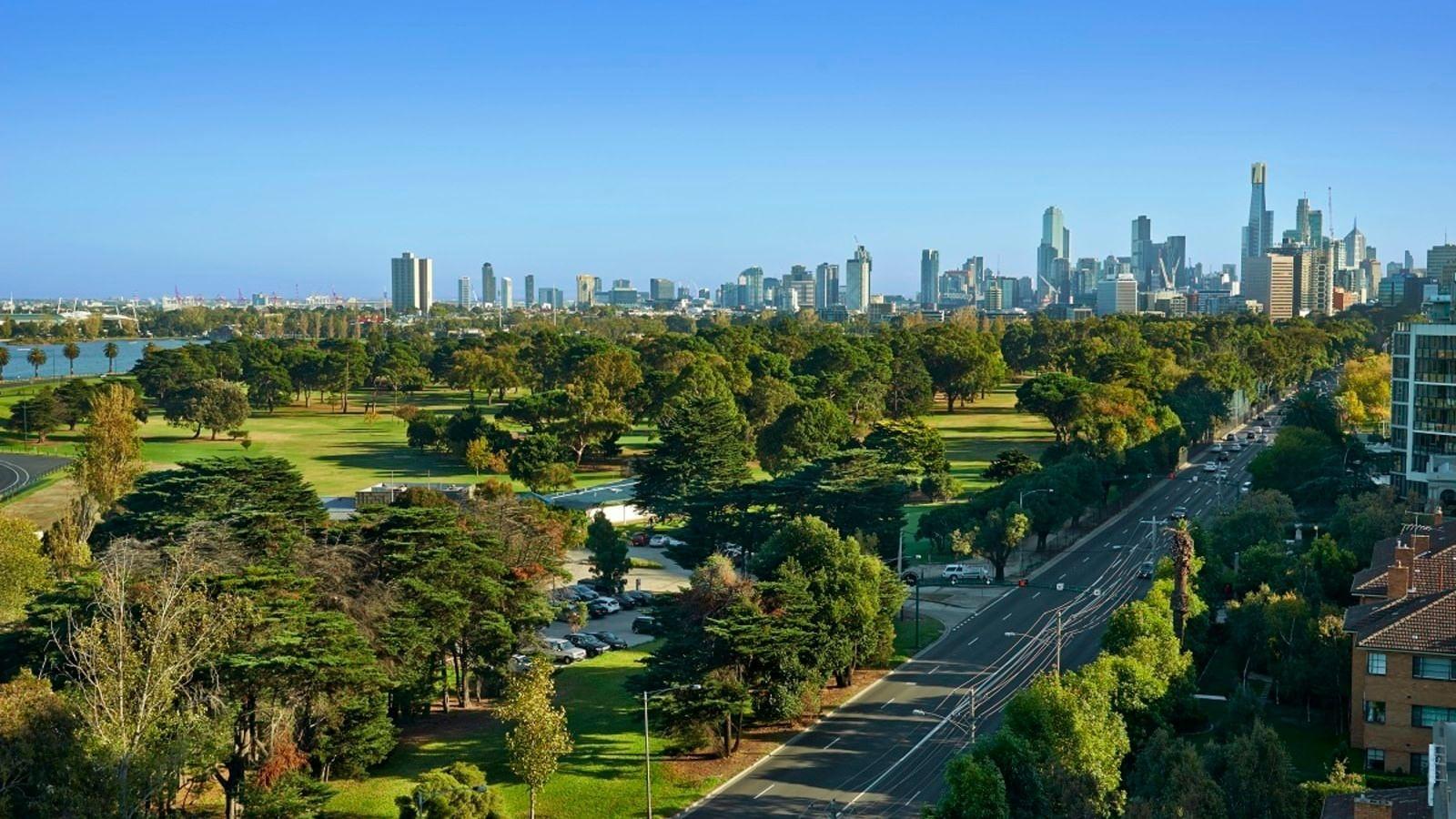 A view of city at Pullman Albert Park