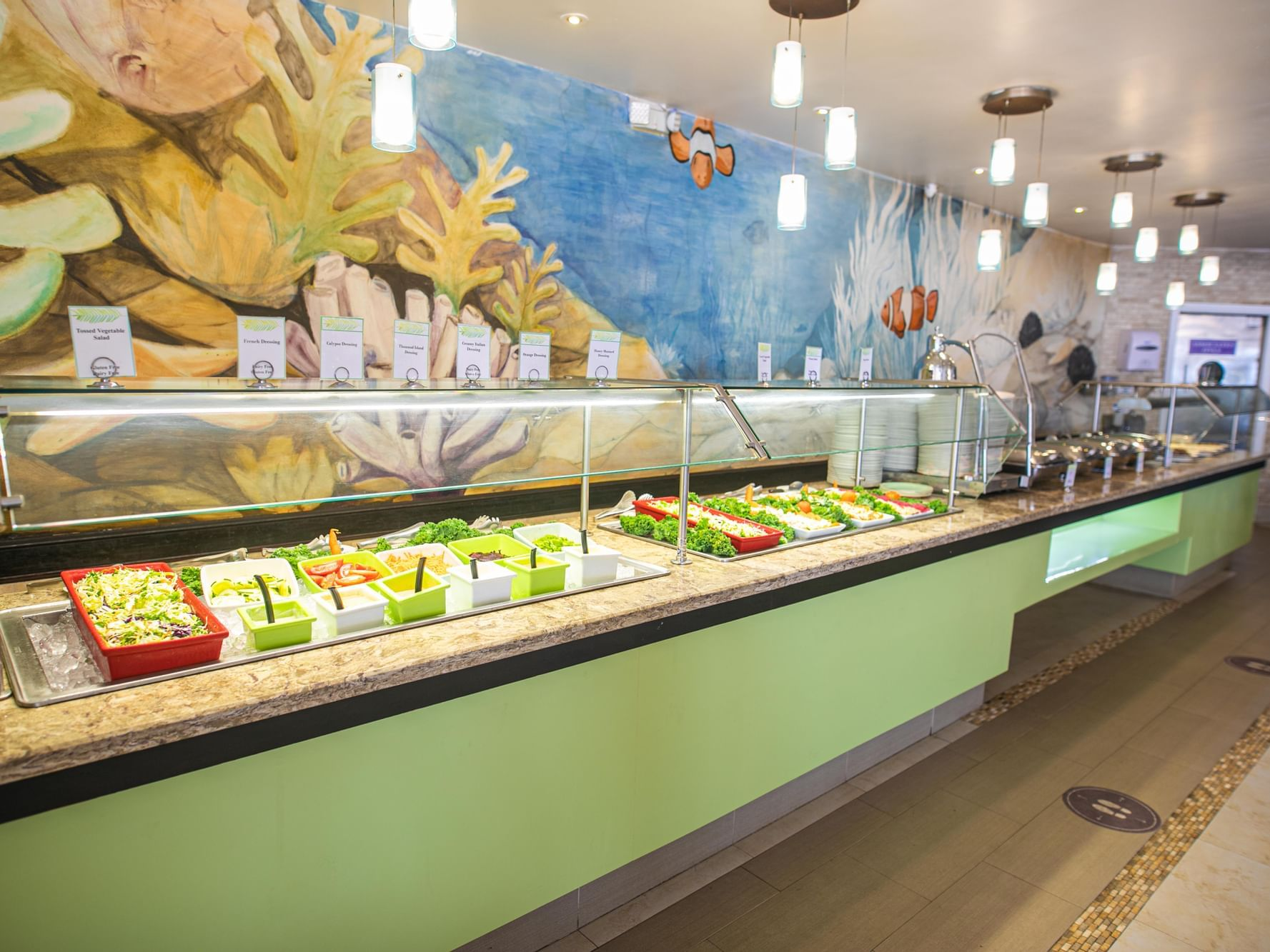 Interior of Portside Buffet at Holiday Inn Montego Bay