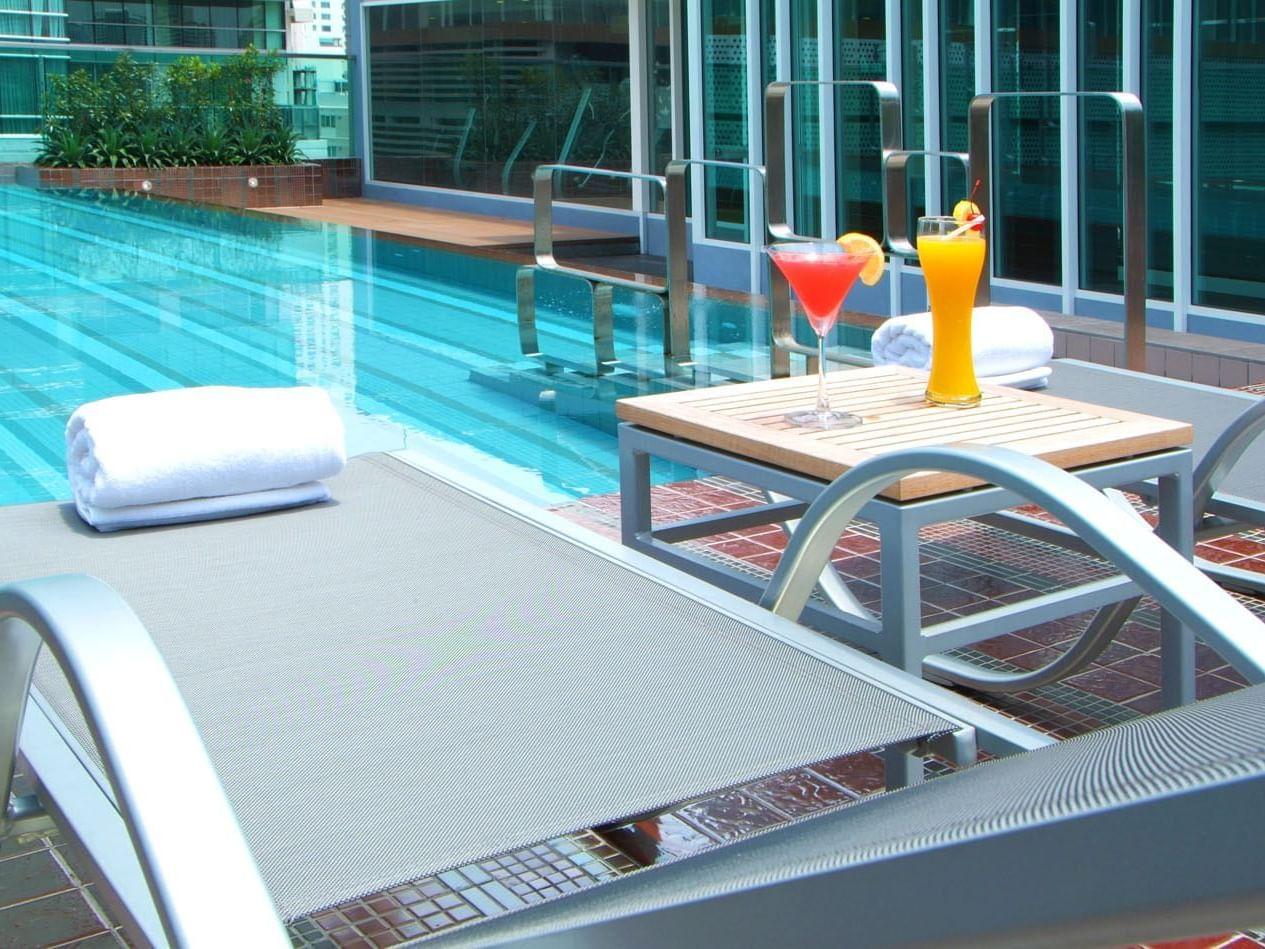Amora Hotel - Pool Area