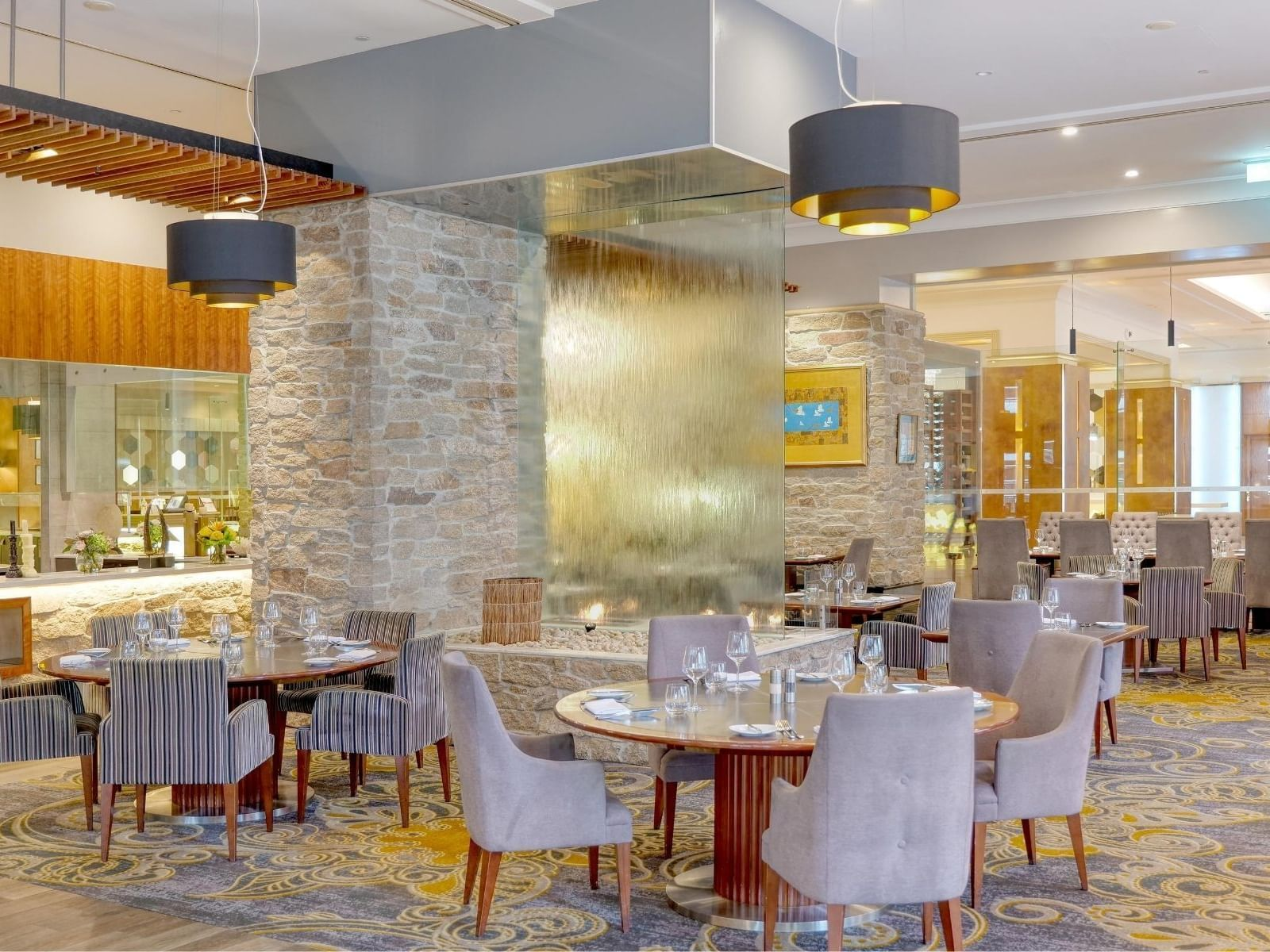 Elegant view of Firewater Grille at Duxton Hotel Perth