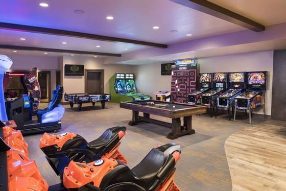 Stein Eriksen Lodge Champions Club Entertainment Center