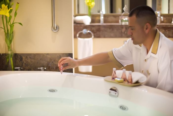 spa bath services