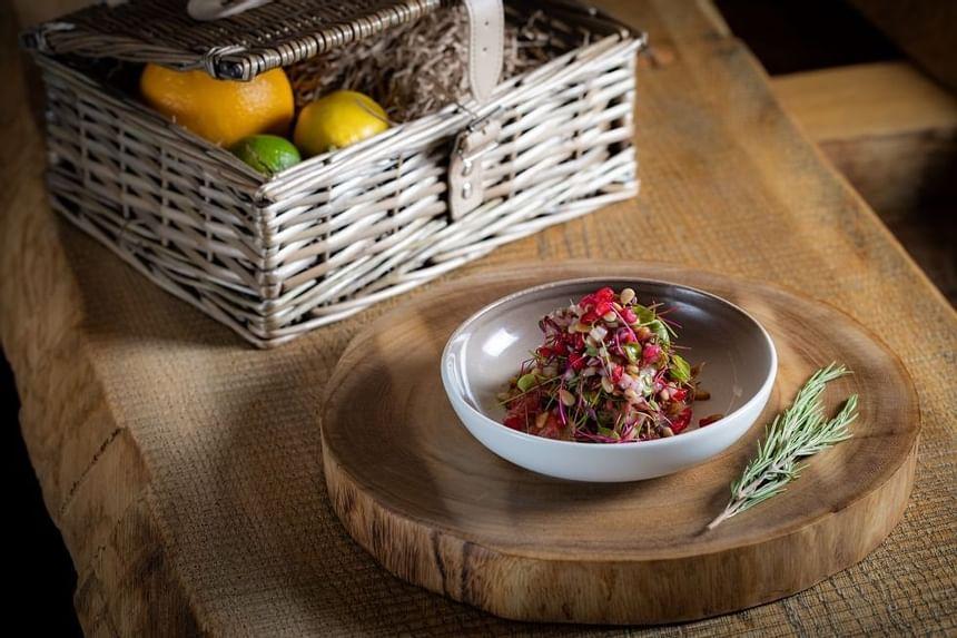 Scoff & Banter Crispy Duck Salad