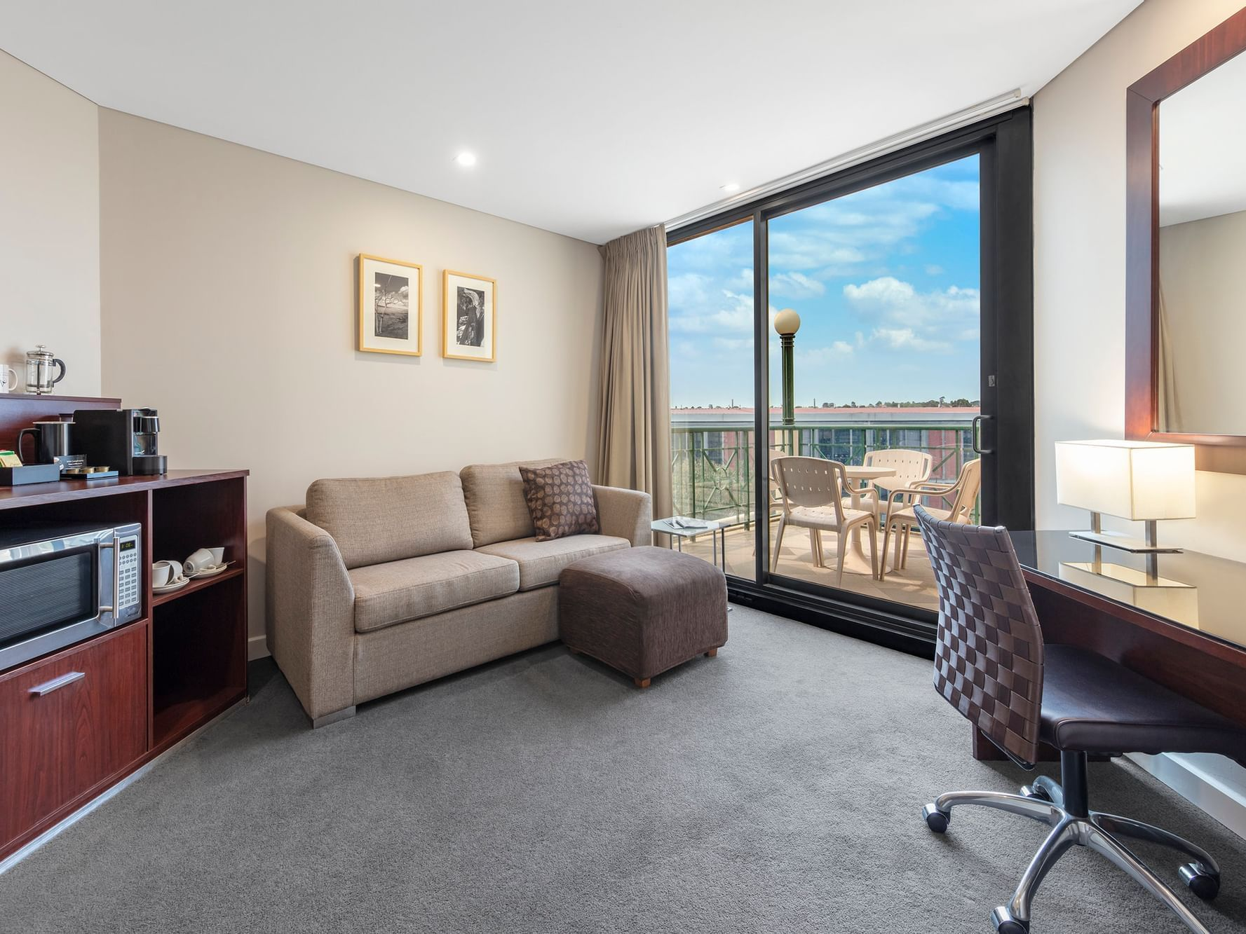 One Bedroom Loft Apartment at Amora Hotel
