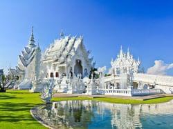วัดร่องขุ่น - Hop Inn Chiang Rai (Budget hotel) - โรงแรมราคาประหยัด โรงแรมฮ็อป อินน์ เชียงราย