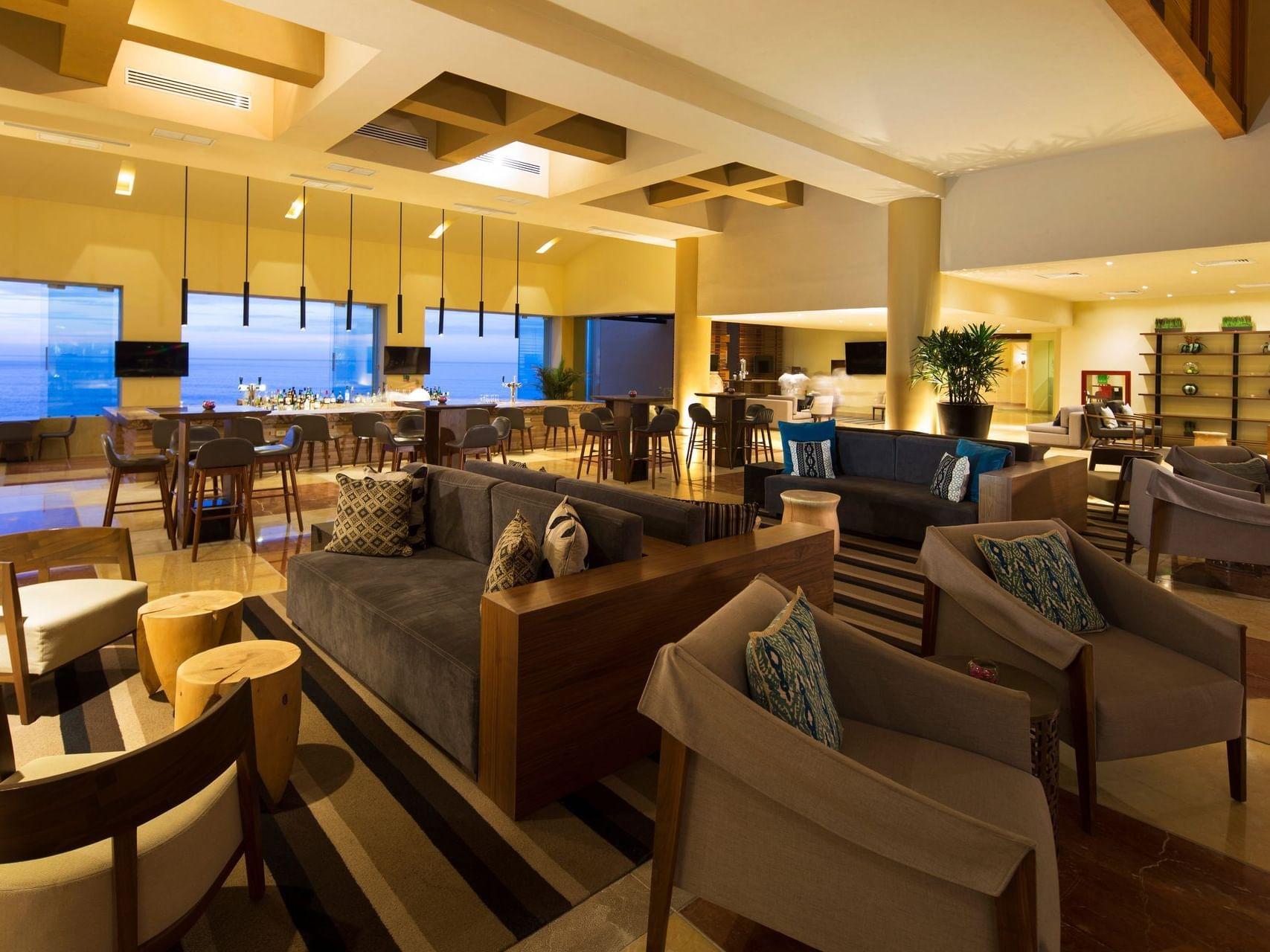 Lobby Bar at Grand Fiesta Americana Los Cabos All Inclusive Golf and Spa