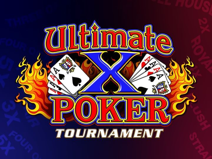 Ultimate X Poker Tournament Logo