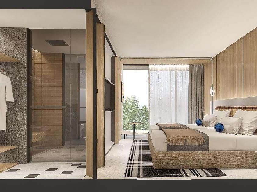 Contemporary Guestrooms at U North Pattaya