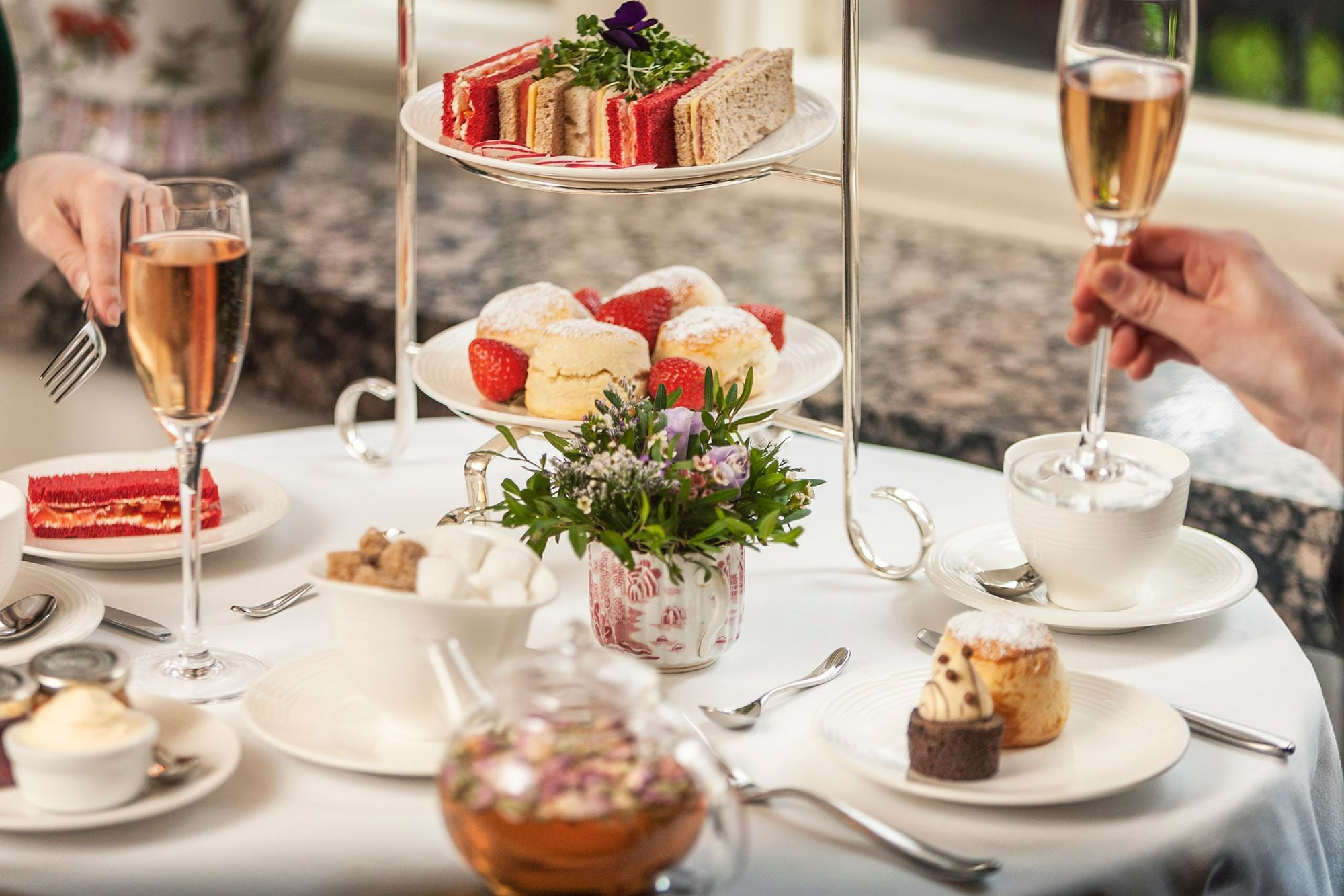 Afternoon Tea at The restaurant at the Capital London