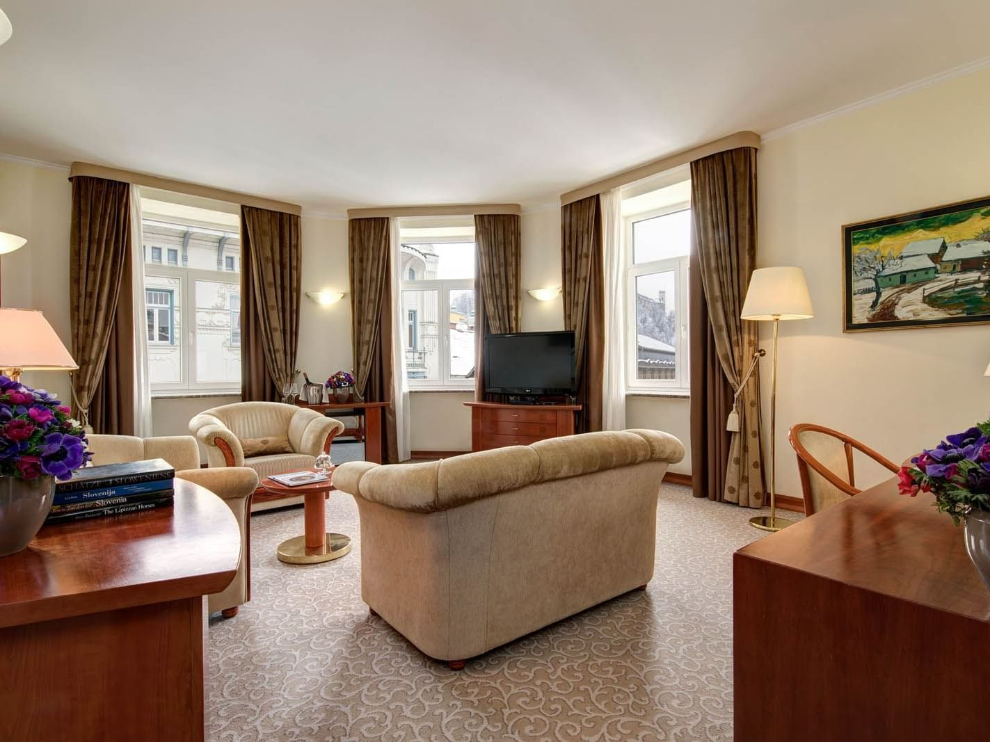 Presidential suite Grand hotel Union