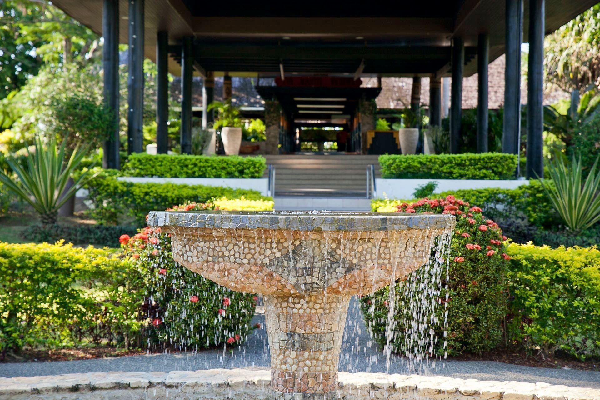 Fountain at Naviti Resort
