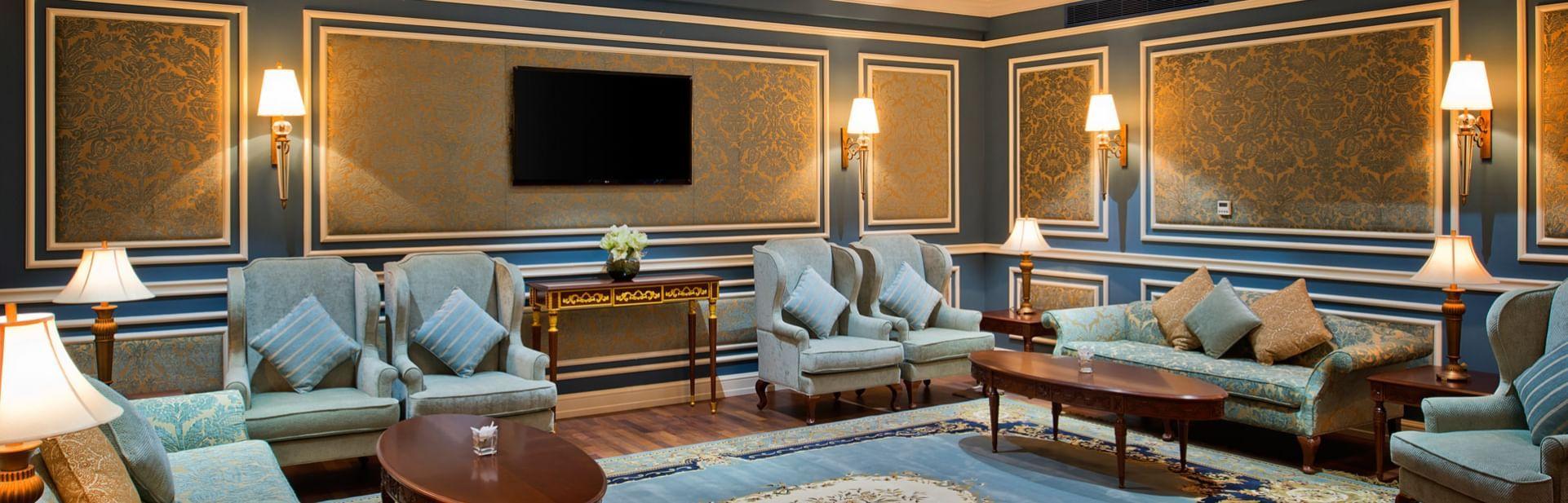 Lobby at Warwick Hotels and Resorts