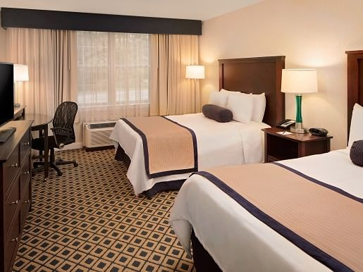 Standard Double Room with two beds at Westford Regency