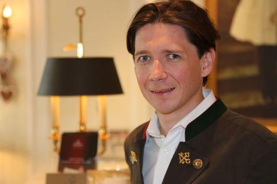 Concierge im Hotel München Palace