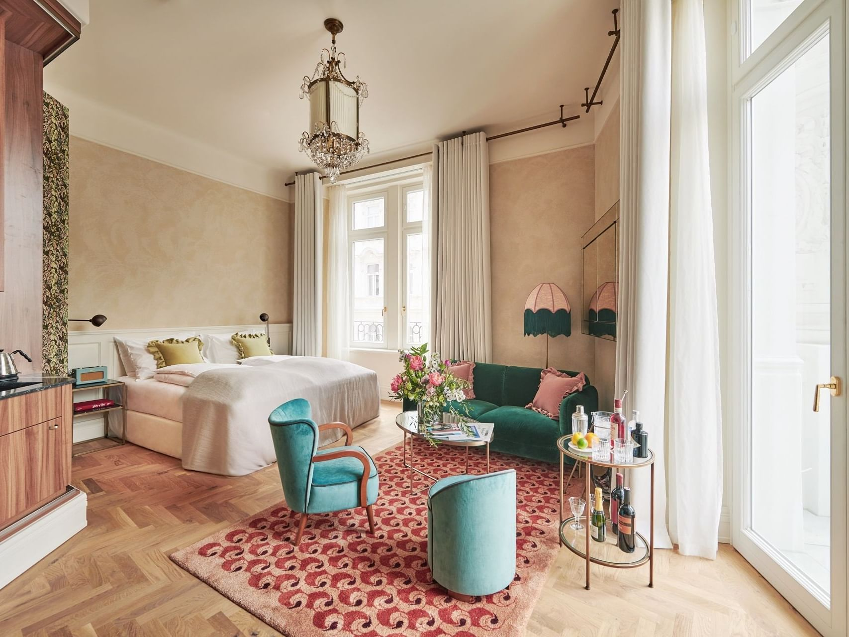 View of the Junior suite at Hotel Motto Vienna