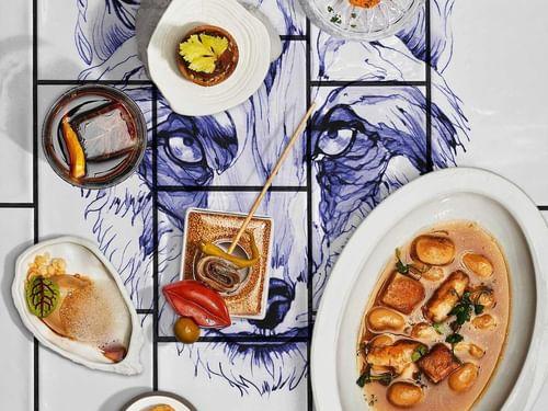 Dining at Gran Hotel Inglés in Madrid