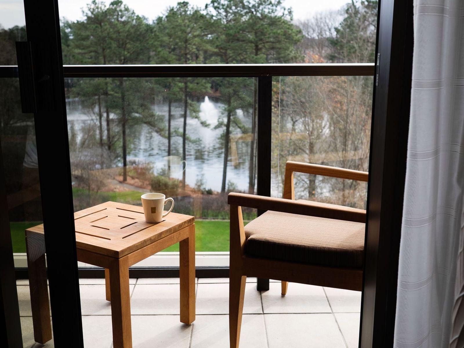 Lake View Balcony Room double