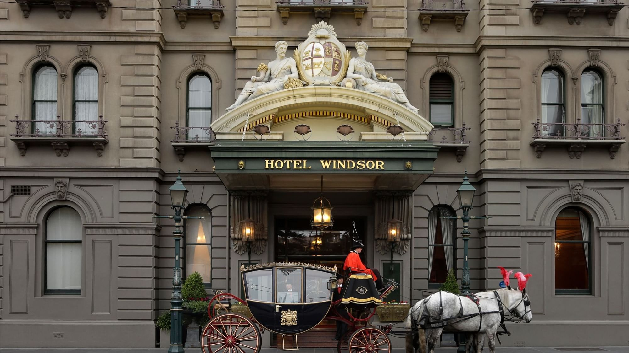 The Windsor Melbourne Horse and Carriage