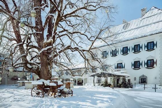 Winter im IMLAUER Hotel Schloss Pichlarn
