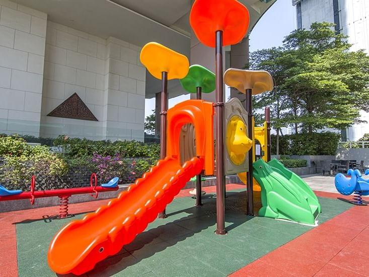 View of Kid's playground at Chatrium Hotel Riverside Bangkok