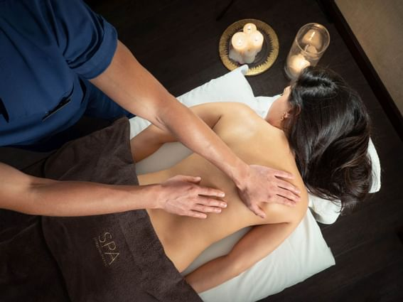 Different aroma therapies  at Intercontinental Kyiv hotel
