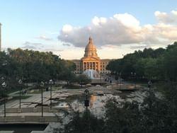 Alberta Legislature Grounds near Metterra Hotel on Whyte