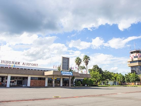ท่าอากาศยานบุรีรัมย์ (สนามบินบุรีรัมย์) Buriram Airport - ฮ็อป อินน์ โรงแรมใกล้สนามบินบุรีรัมย์