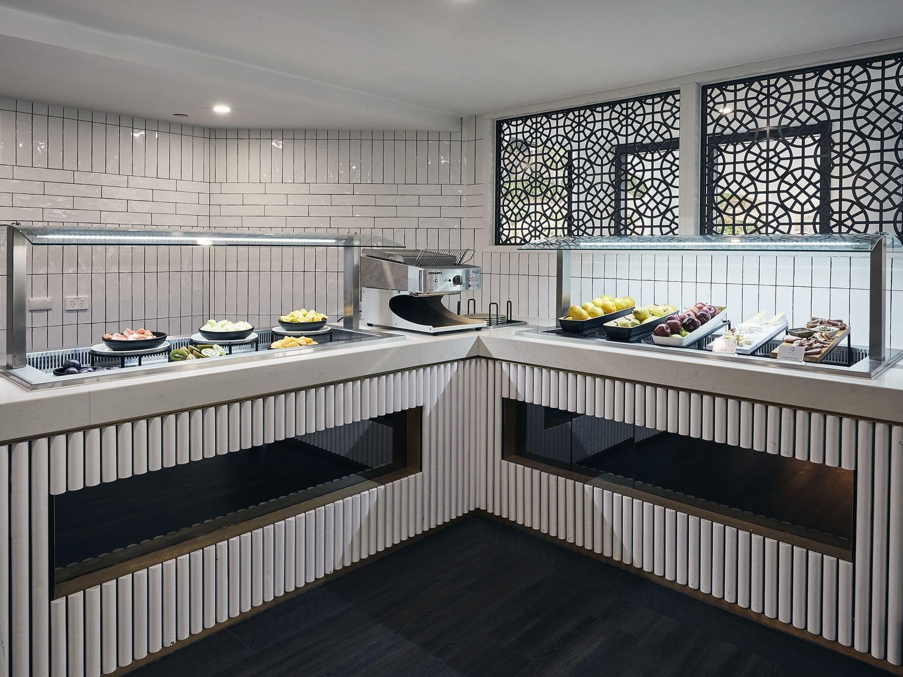 Graze Restaurant Buffet with fruits at Daydream Island Resort
