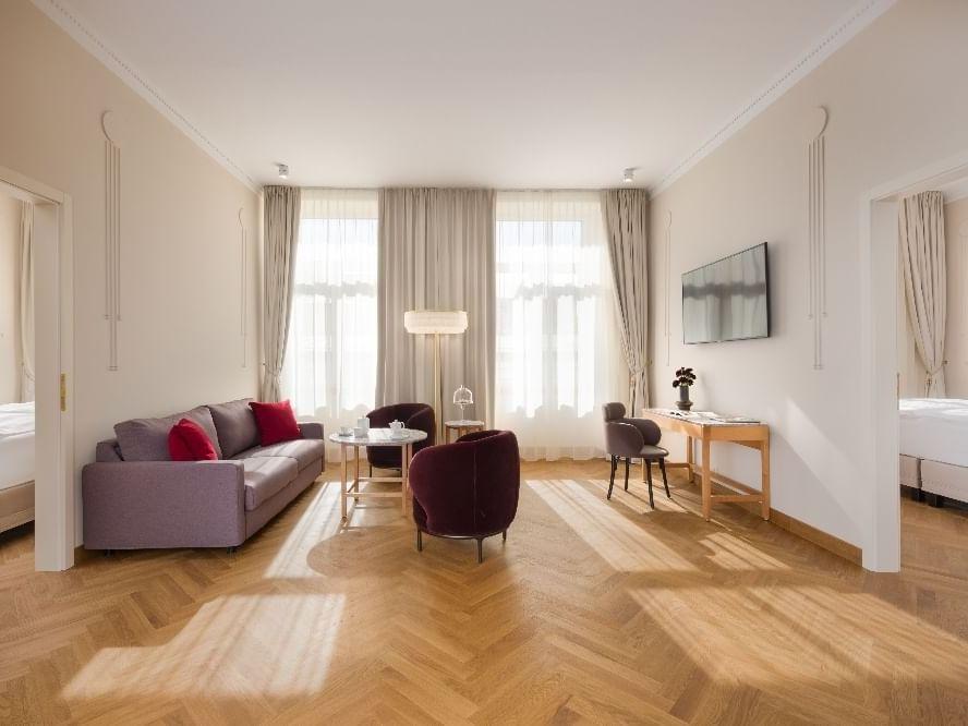 Residence Two Bedroom Suite Bedroom