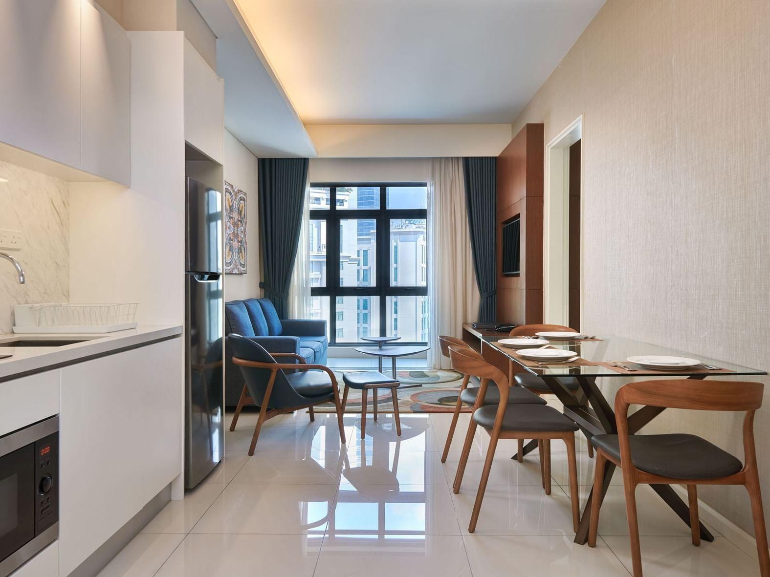 Duo Suite at Tribeca Serviced Apartments in Jalan Imbi, Kuala Lumpur
