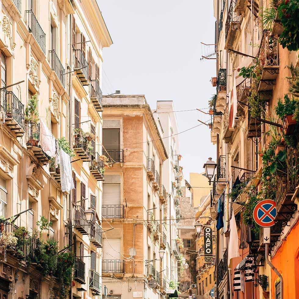 View of Cagliari near Falkensteiner Hotels and Residences