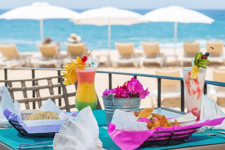 Tortugas Bar Dining Options