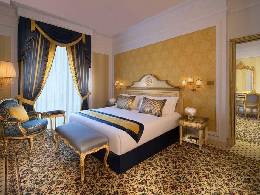 جناح فاخر في فندق رويال روز في أبو ظبي، الإمارات العربية المتحدة