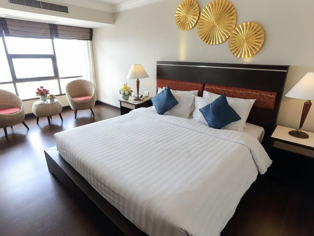 Deluxe Room at Amora Hotel