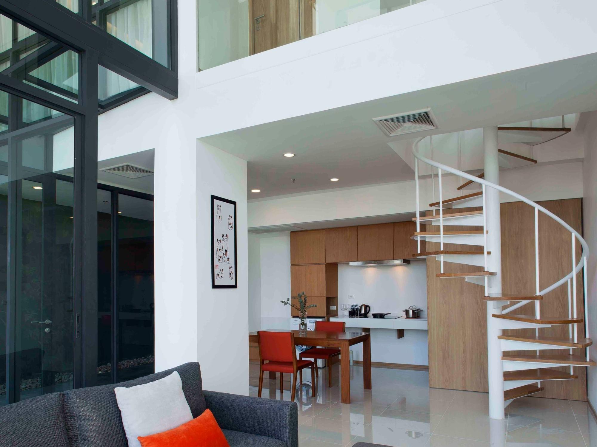 Three Bedroom Duplex Penthouse
