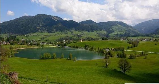 Swimming areas around Schloss Pichlarn