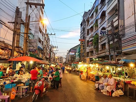 ตลาดกิมหยง (Gimyong Market) - HOP INN HOTEL