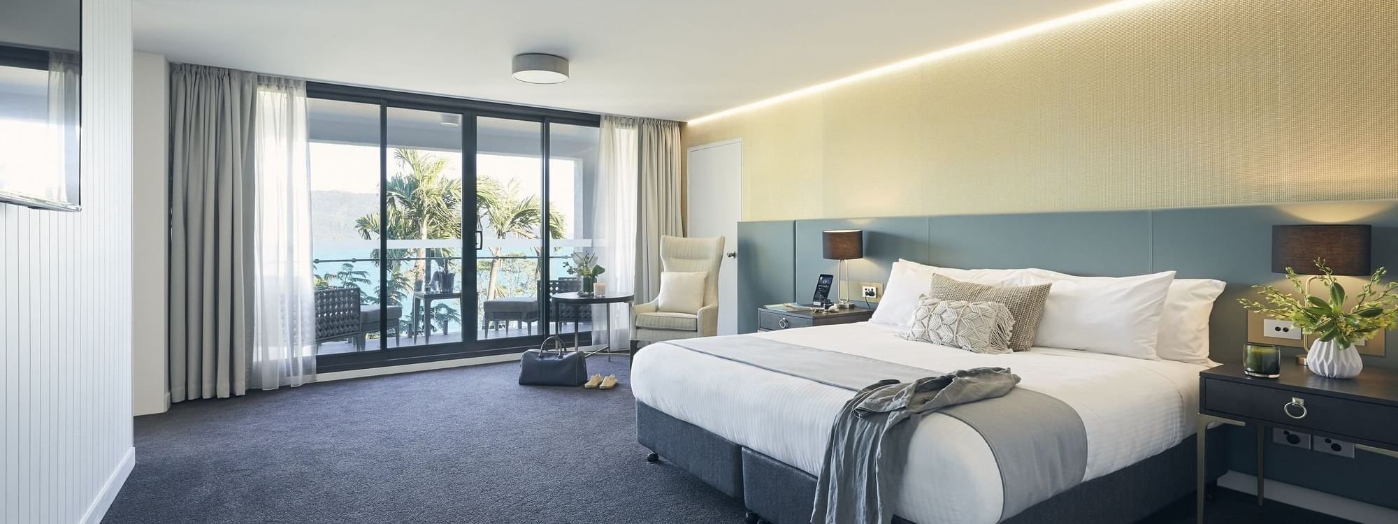Serenity Suite with sea view terrace at Daydream Island Resort