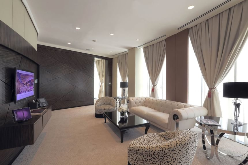 Executive Suite at The Torch Doha Hotel in Qatar