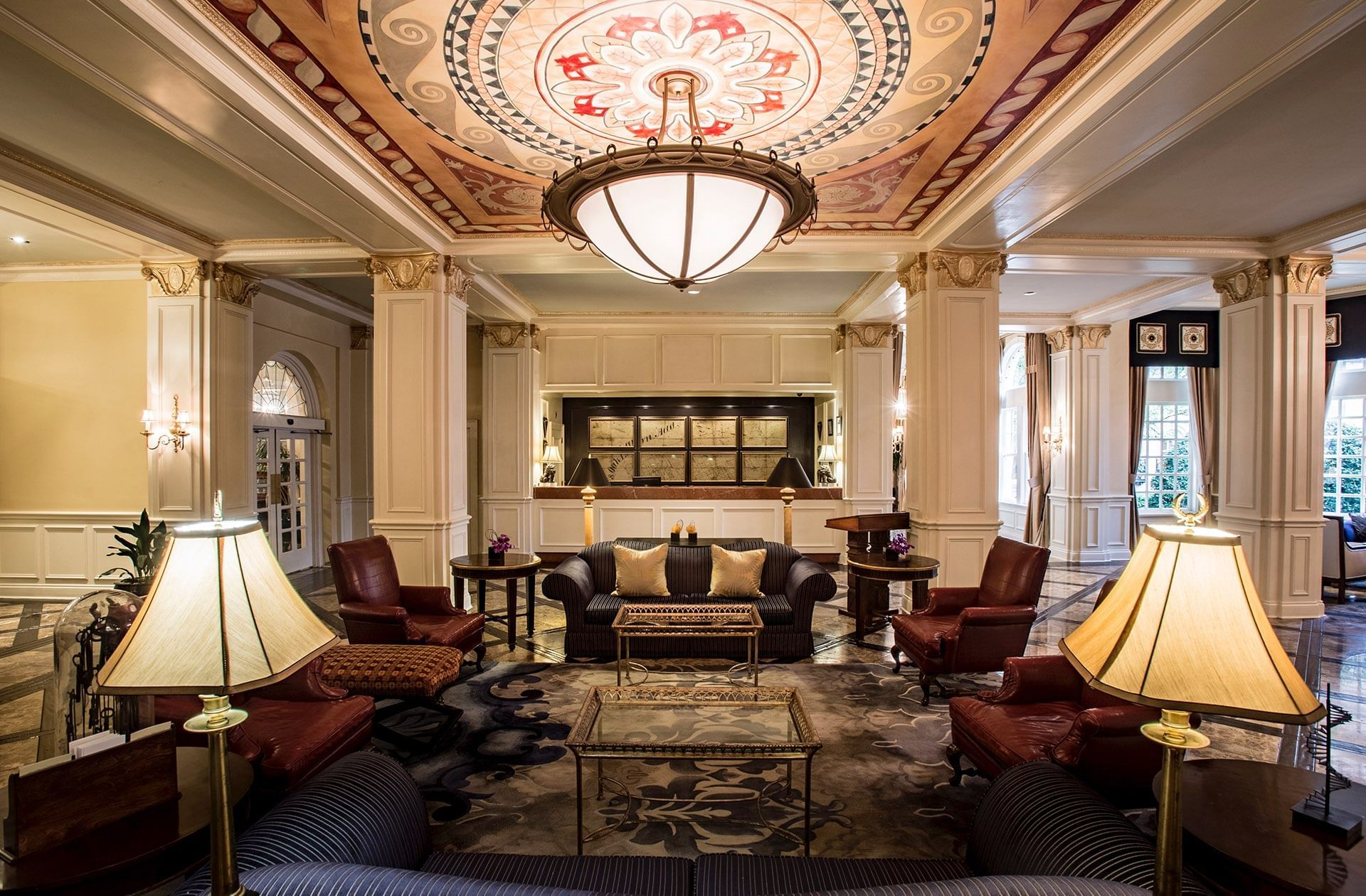 Warwick Melrose Dallas Lobby