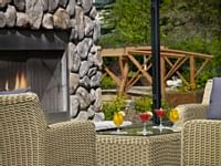 Coast Canmore Hotel & Conference Centre - Patio Bridge Drinks
