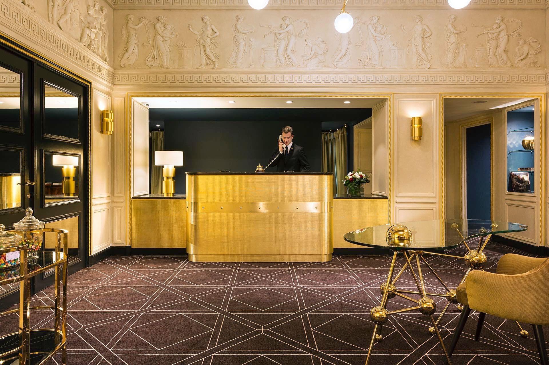 Hotel Barsey by Warwick Lobby Reception