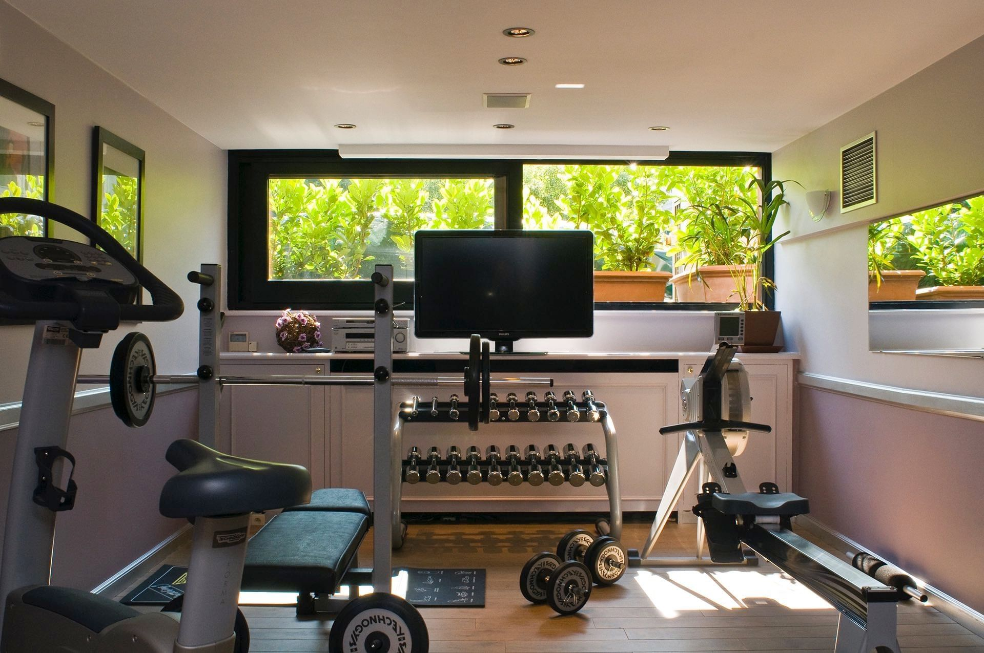 Fitness Room at Hotel Barsey by Warwick