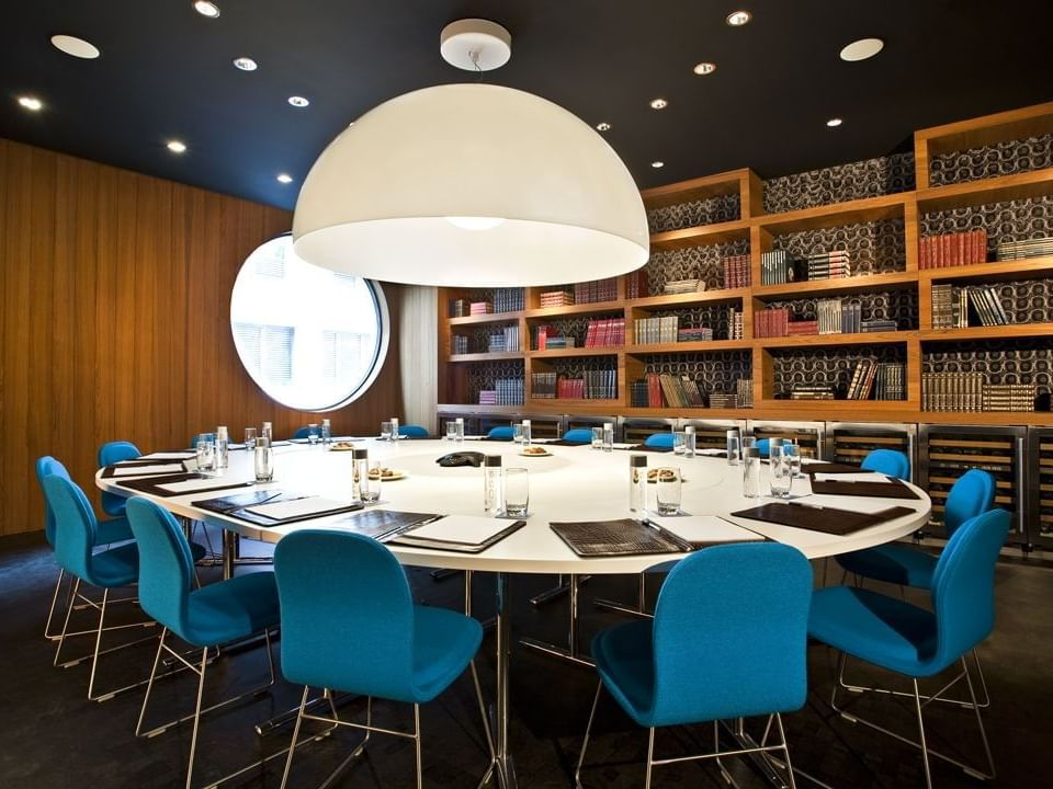 Library/the conference room for 16 people at Dream Downtown NYC