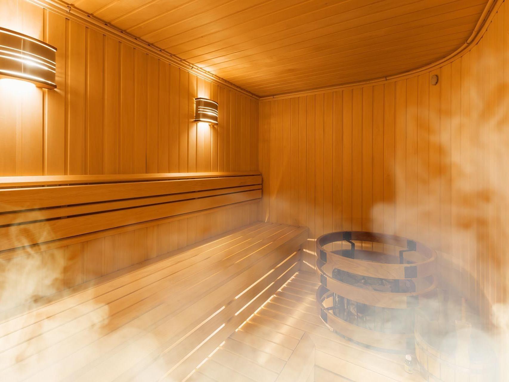 sauna at Precise Resort Marina Wolfsbruch