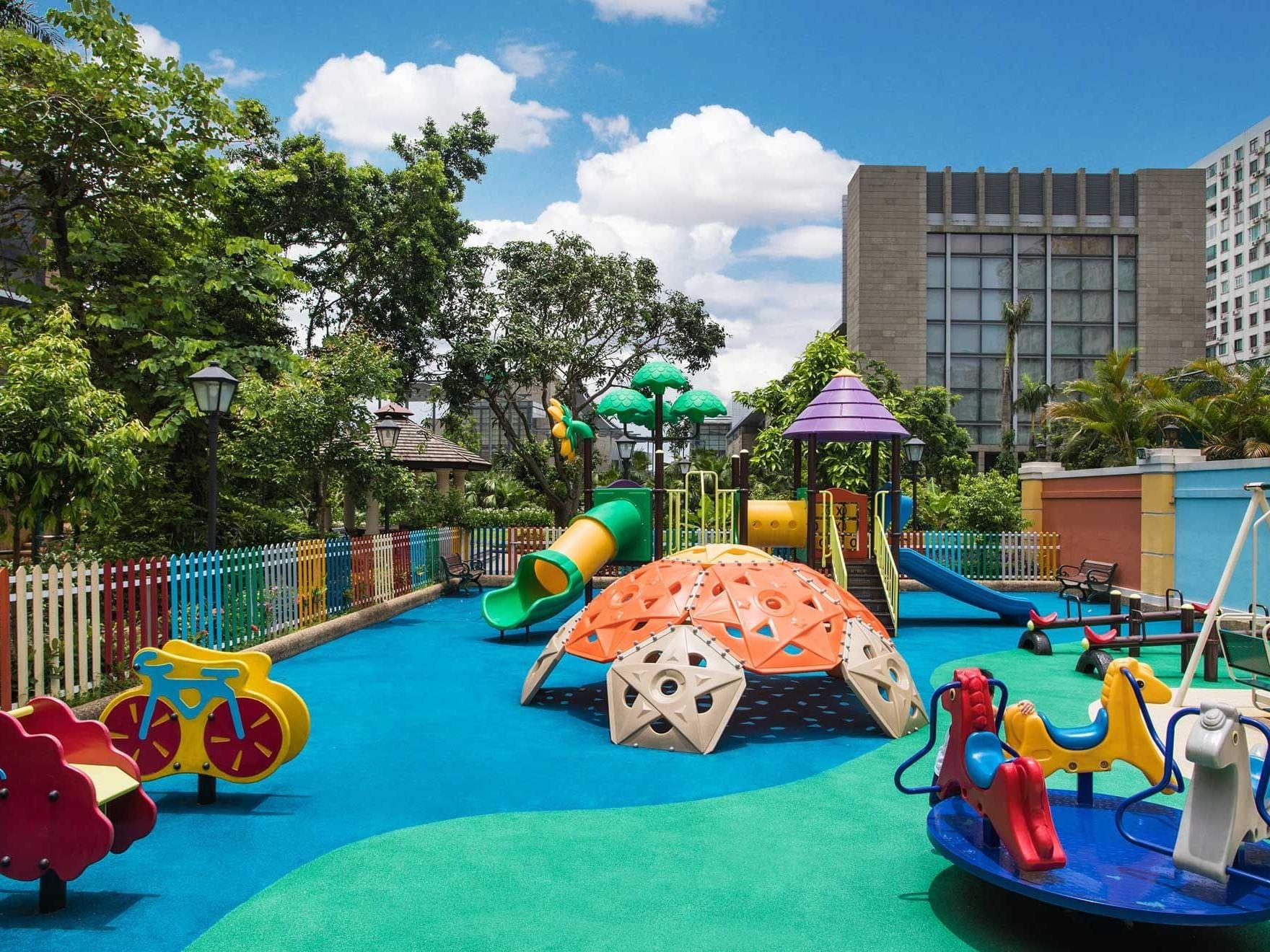 Kids park at Artyzen Grand Lapa Hotel Macau