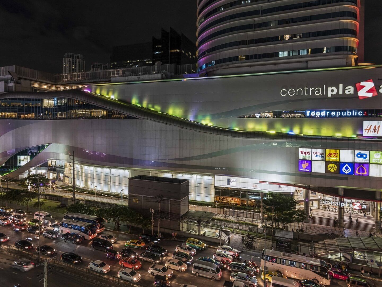 Central Plaza Grand Rama 9 near Chatrium Hotel Riverside Bangkok